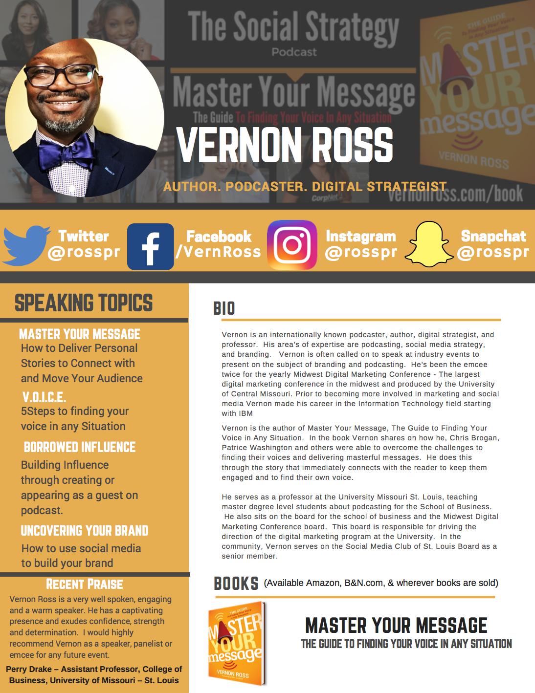 Vernon's Bio